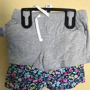 Carter's Girls Two-Piece Shorts